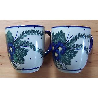 Pott, 300 ml, height 9 cm, 47 Unikat polish pottery - mug - BSN 1831