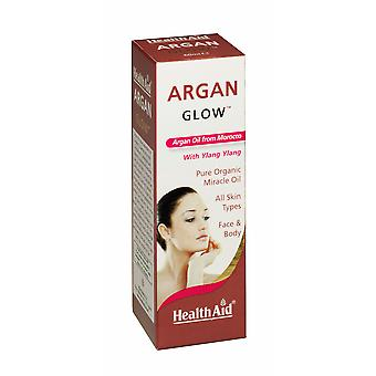 Health Aid, Argan Glow, Oil 60ml