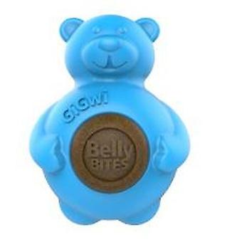 Gigwi Belly Bites Bear With Replaceable Treats Large
