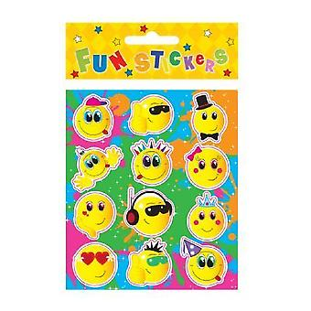 Fun Stickers - Smiley Faces