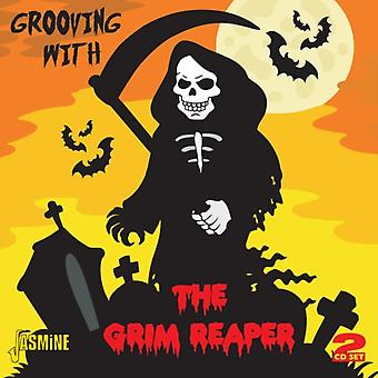 Grooving With The Grim Reaper - Songs Of Death Tragedy & Misfortune 1954-1962 [ORIGINAL RECORDINGS REMASTERED] 2CD SET by Various Artists