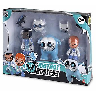 Famosa Mutant Busters 3 Figures Pack Ice 1 (Toys , Action Figures , Dolls)