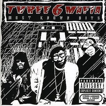 Three 6 Mafia - de flesta kända Hits [CD] USA import