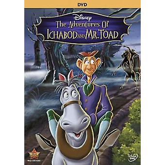 Adventures of Ichabod & Mr Toad [DVD] USA import
