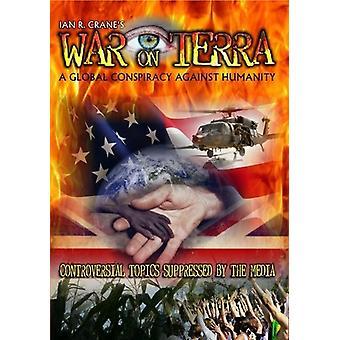 Krig på Terra-Global sammensværgelse mod menneskeheden [DVD] USA import