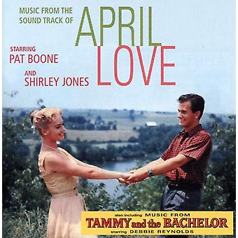 Boone/Jones - April Love (with Songs From Tammy the Bachelor) [CD] USA import