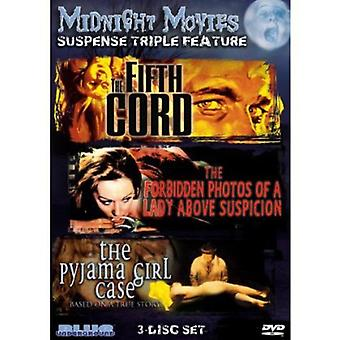 Midnat film - midnat film: Vol. 13-spænding tredobbelt funktion [DVD] USA importerer