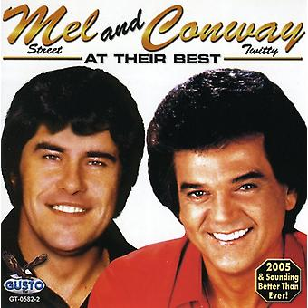 George/Mel/Conway - At Their Best [CD] USA import