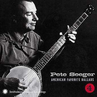Pete Seeger - Pete Seeger: Vol. 4-American Favorite Ballads [CD] USA import