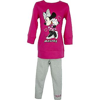 Disney Minnie Mouse TunicDress & Leggings Set NH6104. I06