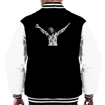 Ray Davies The Kinks Alcohol White City Stadium London 1973 Men's Varsity Jacket