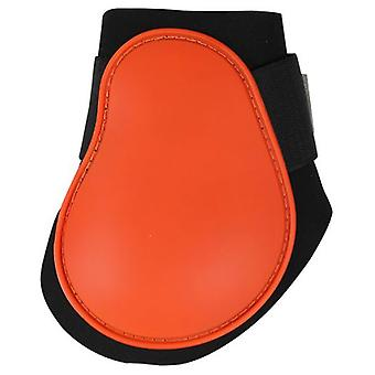 QHP Orange Protector Spur (Horses , Horse riding equipment , Legs and tail , Covers)