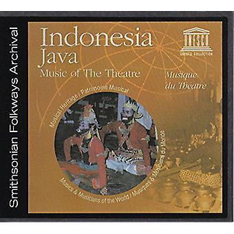 Forskellige kunstner - Indonesien: Java-musik teater [CD] USA importen