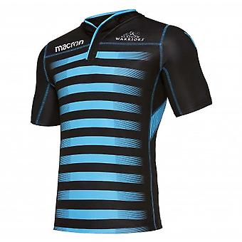 2017-2018 Glasgow Warriors Rugby Training Jersey (Black)