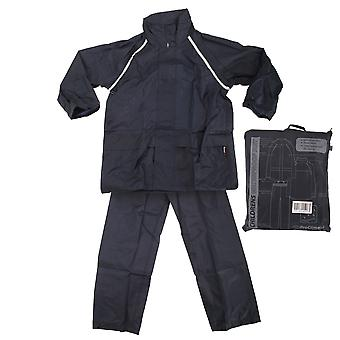 ProClimate Childrens Waterproof Rain Suit (Trousers And Jacket Set)