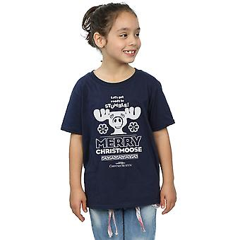 National Lampoon's Christmas Vacation Girls Merry Christmoose T-Shirt
