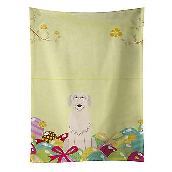Carolines Treasures  BB6065KTWL Easter Eggs Irish Wolfhound Kitchen Towel