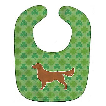 Carolines Treasures  BB6409BIB Golden Retriever Shamrocks  Baby Bib