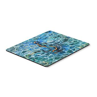 Carolines Treasures  BB5370MP Anchor and Rope Mouse Pad, Hot Pad or Trivet