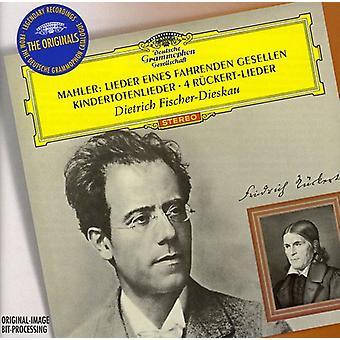 G. Mahler - Mahler: Lieder Eines Fahrenden Gesellen; Kindertotenlieder; 4 R Ckert-Lieder [CD] USA import