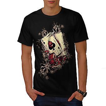 Casino Poker Spieler Männer BlackT-Shirt | Wellcoda