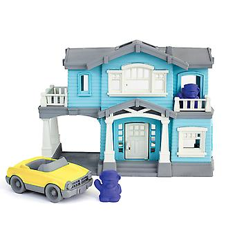 Green Toys House Playset with Accessories