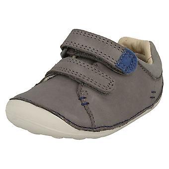 Chicos primera de Clarks zapatos pequeño Toby