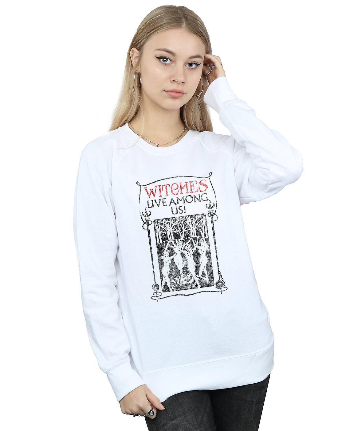 Fantastic Beasts femmes&s Witches Live Among Us Sweatshirt