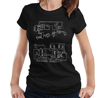 TRS 80 Computer Schematic Women's T-Shirt