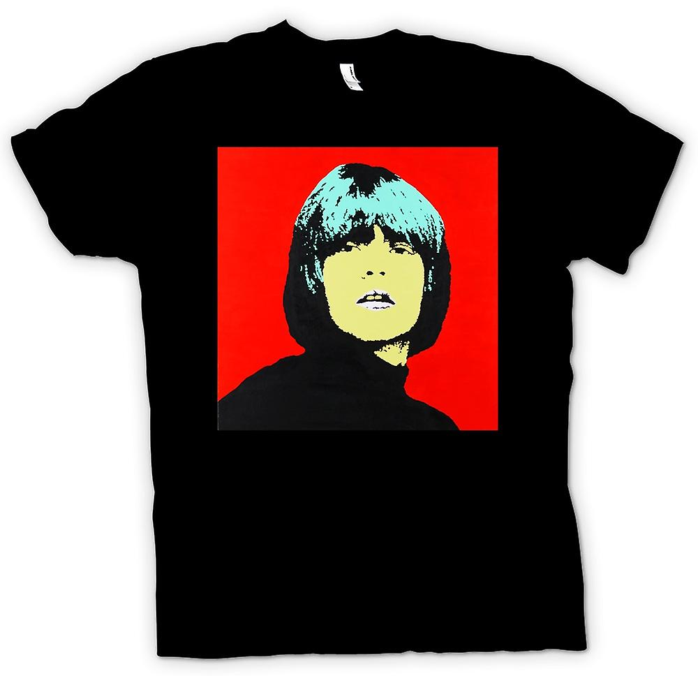 Mens T-shirt - Rolling Stones Brian Jones - Pop Art