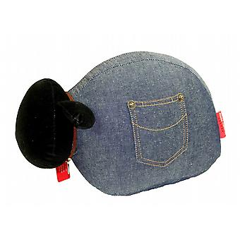 Denim Sheep Door Banger / Doorstop by Monica Richards