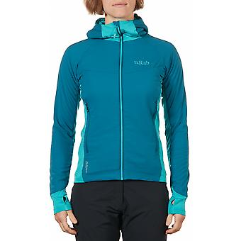 Rab Womens Alpha Flux Jacket Waterproof and Highly Breathable Fabric