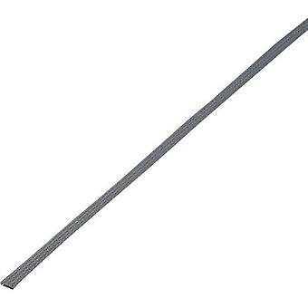 Conrad Components 1243871 CBBOX0510-GY Braided hose Grey PET 5 up to 10 mm 10 m