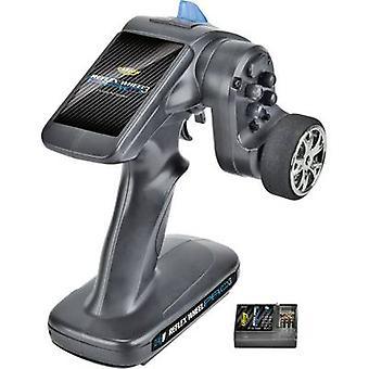 Carson Modellsport Reflex wiel Pro III 2.4 GHz 11, 1V pistoolgreep RC 2,4 GHz nr. kanalen: 2 Incl. ontvanger