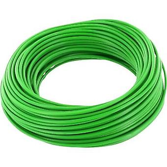 BELI-BECO D 105/10 Jumper wire 1 x 0.20 mm² Green 10 m