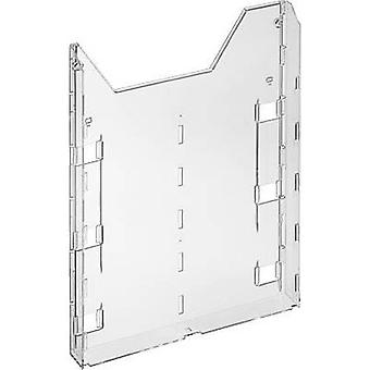 Durable Brochure holder 8579-19 Transparent 242 mm x 320 mm x 34 mm No. of compartments 1