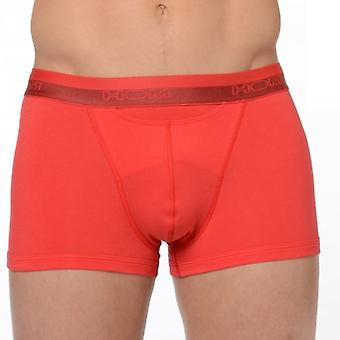 Hom HO1 Boxer Brief, Red, Small