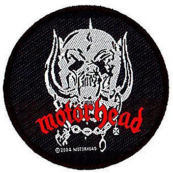 Motorhead Warpig Skull Round Sew-On Cloth Patch