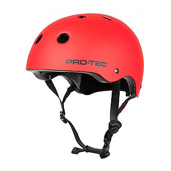 Pro-Tec rot Classic Spitfire Skateboard Helm