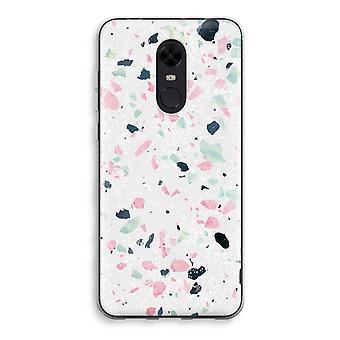 Xiaomi Redmi 5 Transparent Case (Soft) - Terrazzo N°3