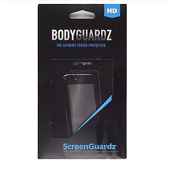 5 pack - ScreenGuardz + HD Anti-Glare Screen Protector per LG Ignite AS855 (2-Pack)