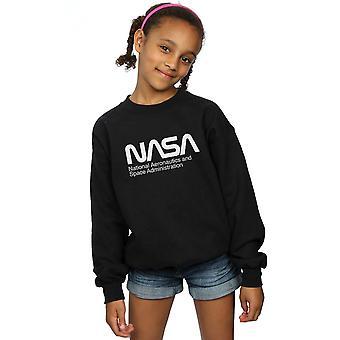 NASA Mädchen Aeronautics And Space Sweatshirt