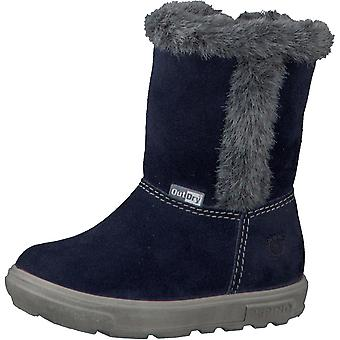 RICOSTA Pepino filles Usky OutDry bottes imperméables Nautic Blue