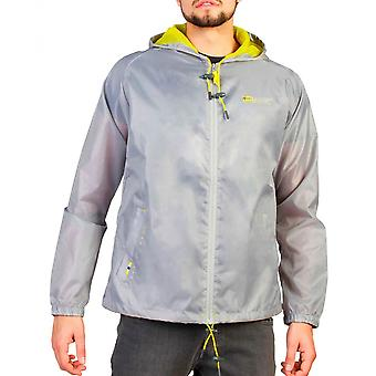 Geographical Norway Mens Light Grey Boat Man Jacket
