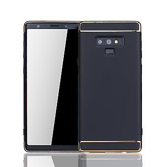 Tactile Samsung Galaxy 9 mobile couvre pare-chocs dur housse noir