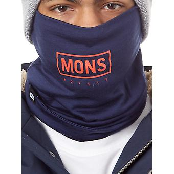 Mons Royale Navy Double Up Snowboarding Neck Warmer