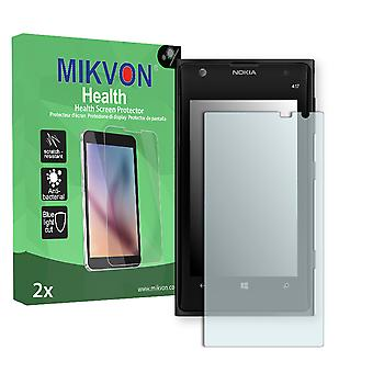 Nokia Lumia 1020 LTE Screen Protector - Mikvon Health (Retail Package with accessories) (intentionally smaller than the display due to its curved surface)
