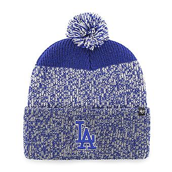 47 Brand Knit Beanie - Static Cuff Los Angeles Dodgers royal