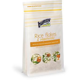 Bunny Rice flakes & vegetables (Small pets , Food Supplements)