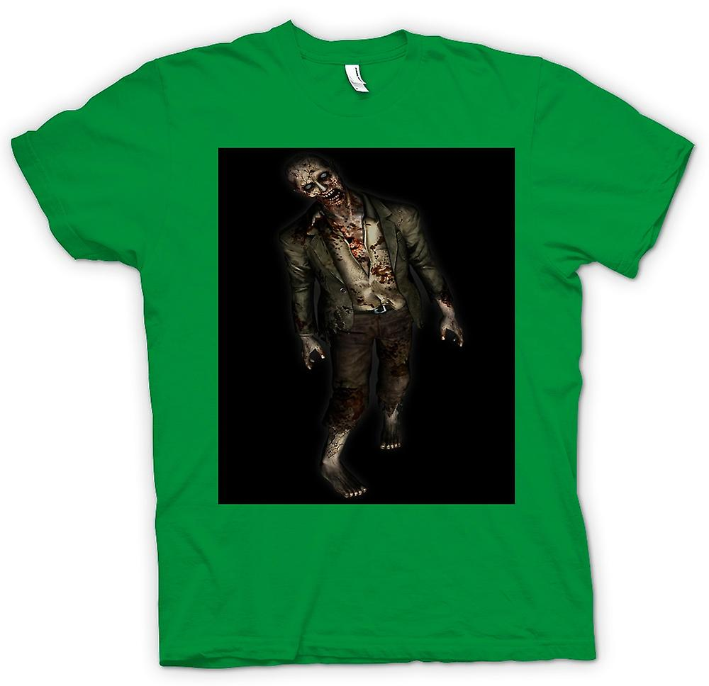 Mens T-shirt - Zombie Undead Walking - Horror